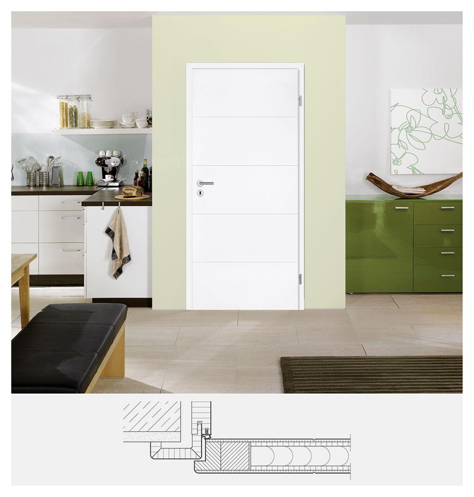 artikelliste t ren fenster t ren weisslack mit 4. Black Bedroom Furniture Sets. Home Design Ideas